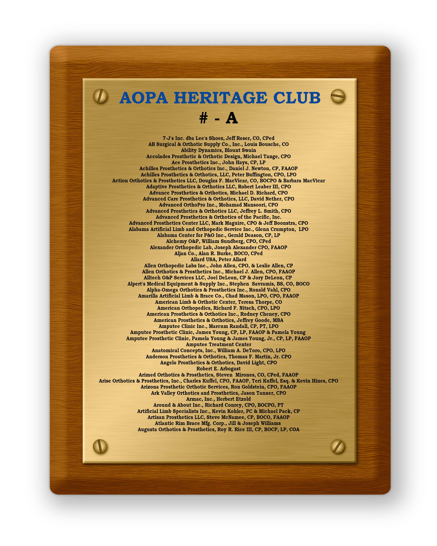 Heritage Club 1