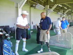 Reggie and WC2 first swing